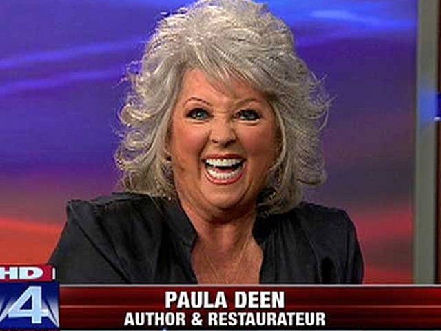put it on a stick  paula deen