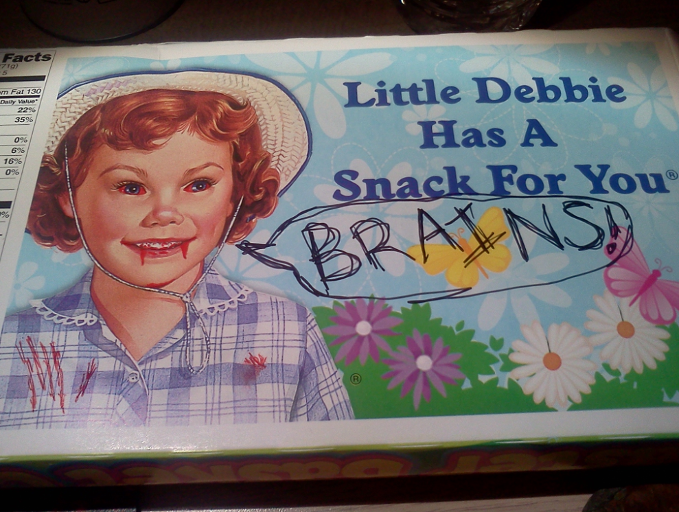 That Slut Little Debbie is Licking Her Greedy Chops ...